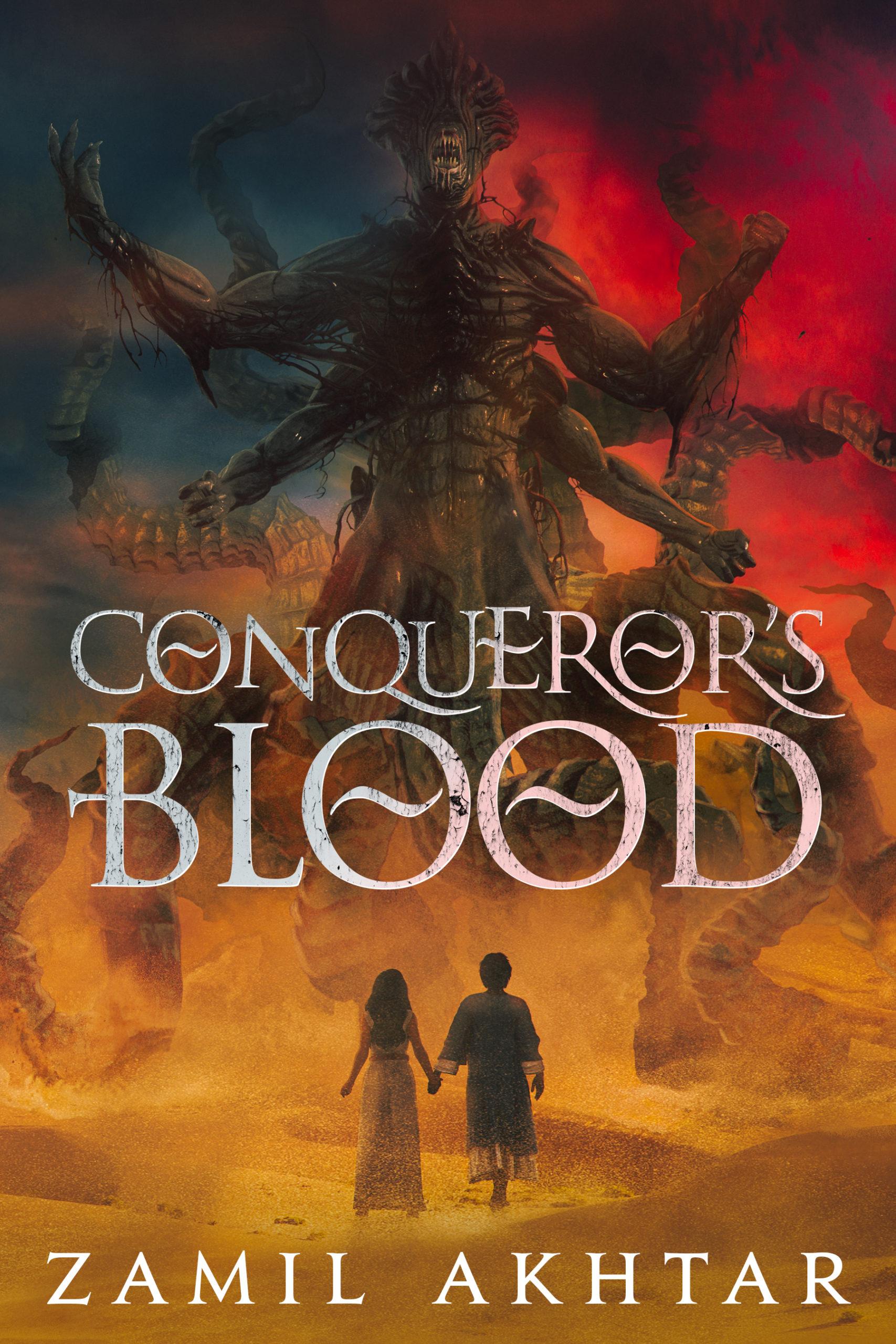 Conqueror's Blood Cover